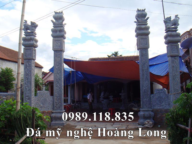 Cot da DEP cho Dinh lang