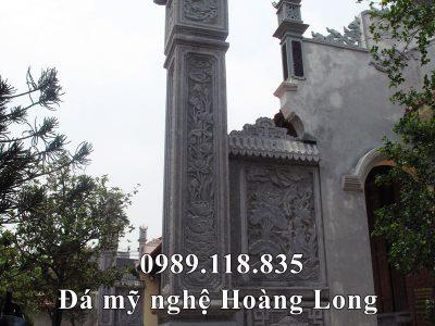Cột đá ĐẸP cho Từ đường, Nhà thờ tổ