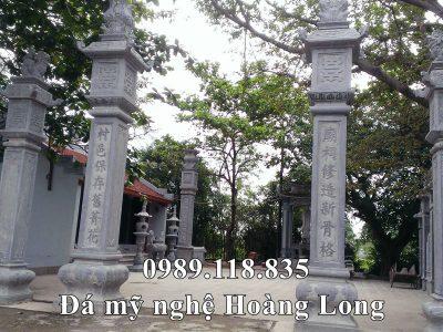 Cột đá đẹp cho Nhà Chùa tại Hà Nam