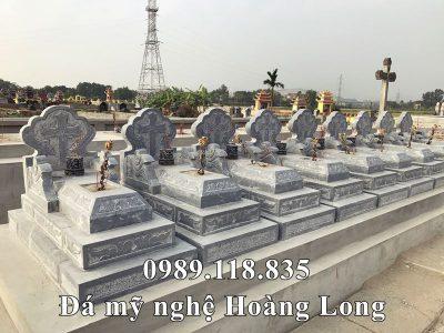 Mẫu Lăng mộ đá công giáo Tam Sơn ĐẸP tại Kim Sơn, Ninh Bình