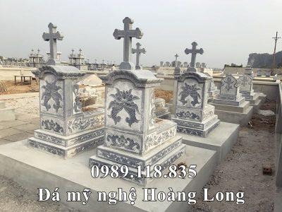 Xây dựng khu Lăng mộ đá Công giáo cho gia đình Chú Tuấn tại Nam Định