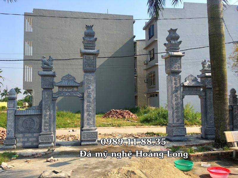 Xây dựng cổng đá tại Vĩnh Phúc