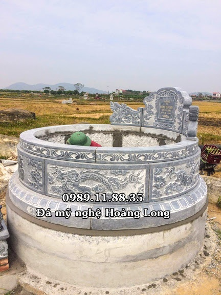 Cơ sở làm mộ đá tròn ở Hòa Bình