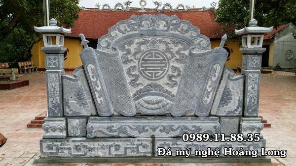 Cuốn thư đá đình làng tại Thuận Thành, Bắc Ninh