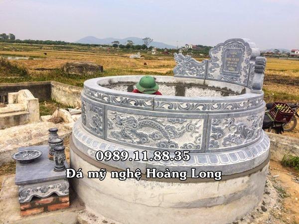 Địa chỉ làm mộ tròn bằng đá