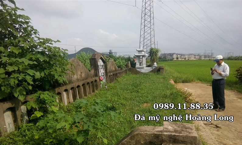 Hình ảnh ban đầu khu lăng mộ họ Trịnh tại Hà Nội