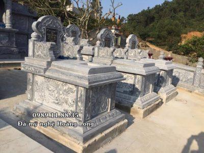 Khu lăng mộ đá gia đình tại Lào Cai