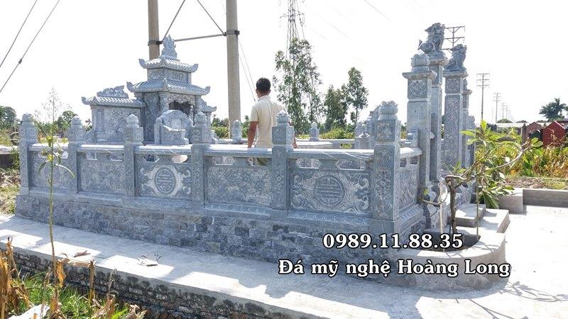 Khu lăng mộ đá làm tại Phú Thọ