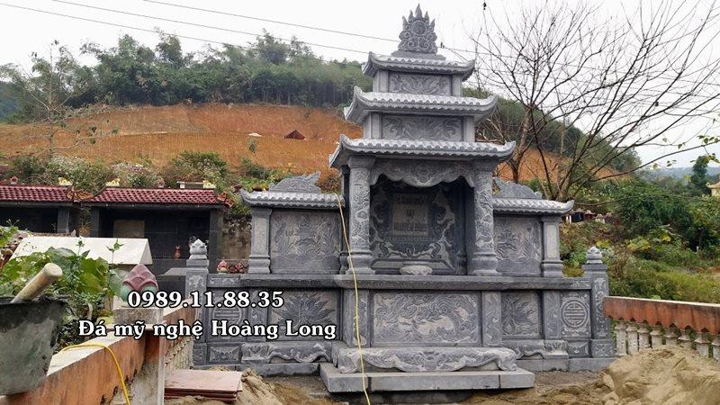 Làm lăng mộ đá tại Bảo Thắng, Lào Cai