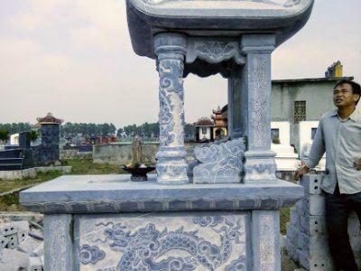 Mộ đá hai mái làm tại Hà Nam