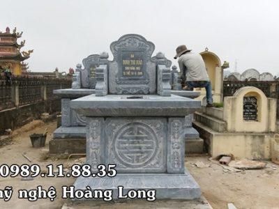 Làm mộ không mái tại Thái Bình