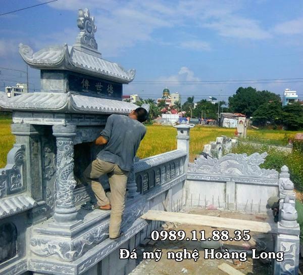 Lắp đặt lăng mộ đá tại Hà Nội