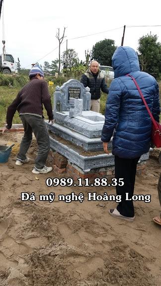Lắp đặt mộ tam sơn