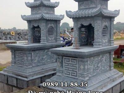 Mẫu mộ ba mái cho ông bà tổ tiên