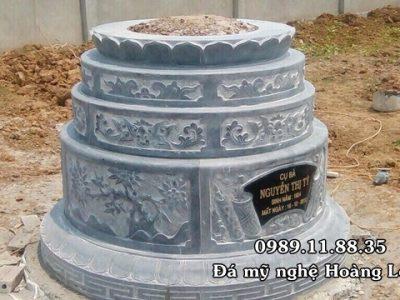 Mẫu mộ tròn đẹp chuẩn phong thủy
