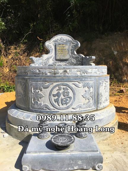 Mộ tròn đá đẹp tại Quảng Ninh