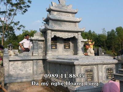 Nhận làm mộ đôi bằng đá tại Phú Thọ