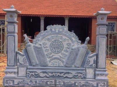 Thi công cuốn thư đá tại Thạch Hà, Hà Tĩnh