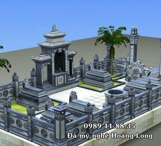 Thiết kế khu lăng mộ đá họ vũ tại Hải Phòng