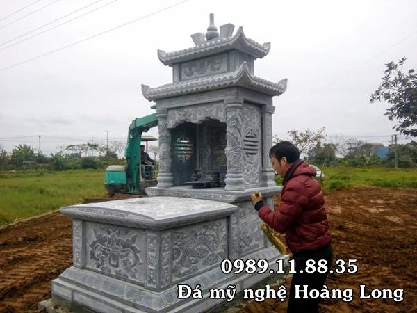 Xây dựng mộ đá