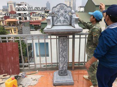 Bàn thờ thiên lắp đặt tại Hà Nội