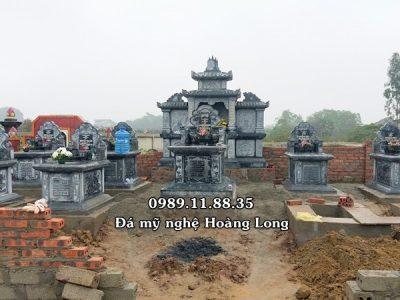Làm khu lăng mộ đá dòng họ tại Thái Nguyên