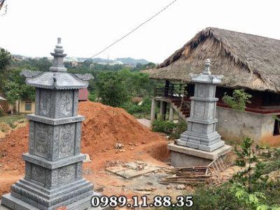 Mộ tháp đá phật giáo làm tại Vĩnh Phúc