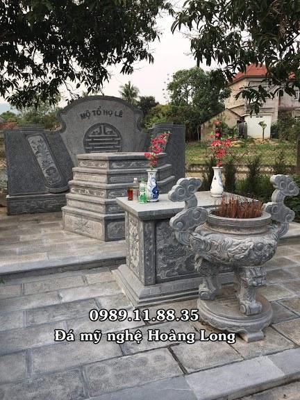 Xây dựng mộ tổ họ Lê tại Phú Thọ