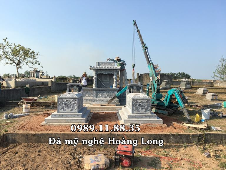 Khu lăng mộ đá chuẩn phong thủy