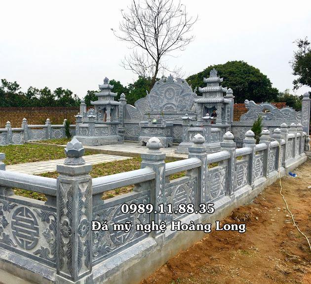 Khu lăng mộ đá tại Bắc Giang