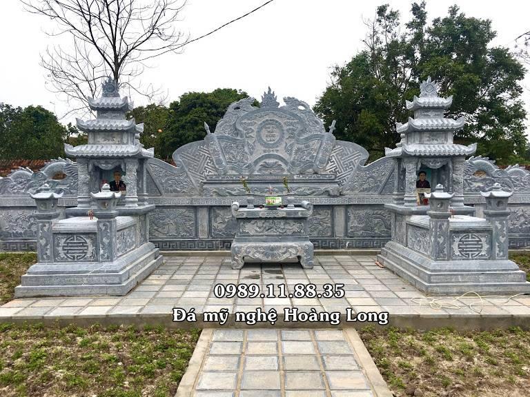 Lăng mộ đá đẹp Bắc Giang