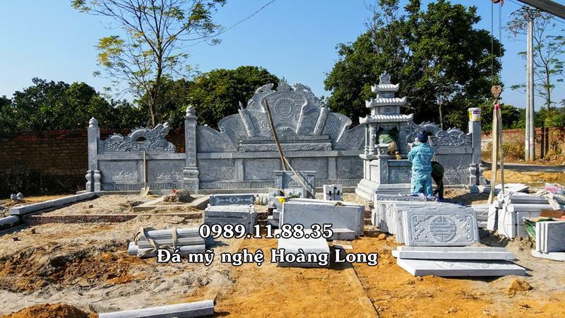 Mẫu khu lăng mộ đá Bắc Giang