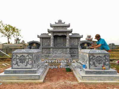 Mẫu lăng mộ đá đẹp lắp đặt tại Quảng Bình