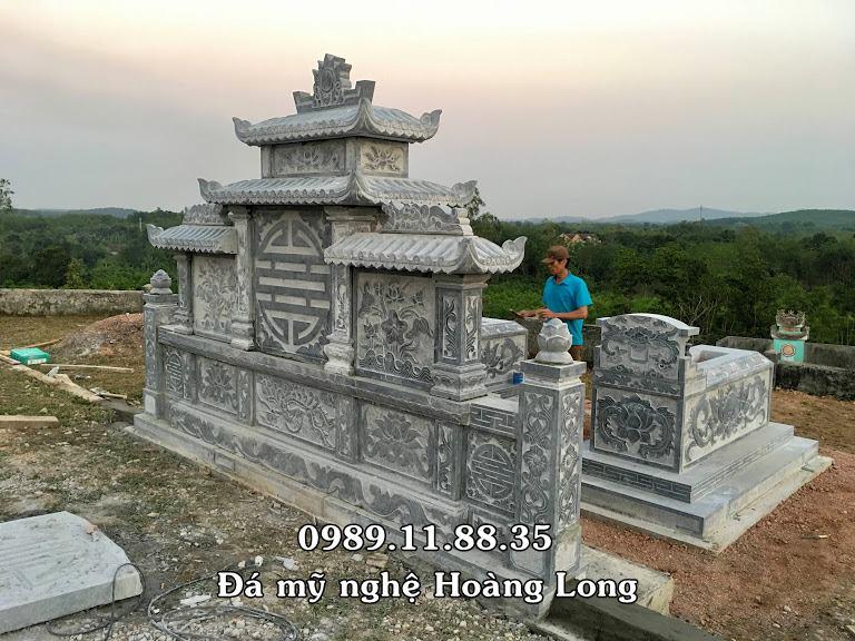 Mẫu lăng mộ đá