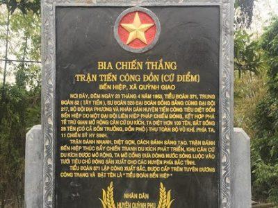 Lắp đặt bia đá tại Thái Bình