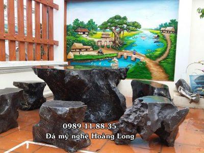 Bán bàn ghế đá tự nhiên tại Bắc Giang