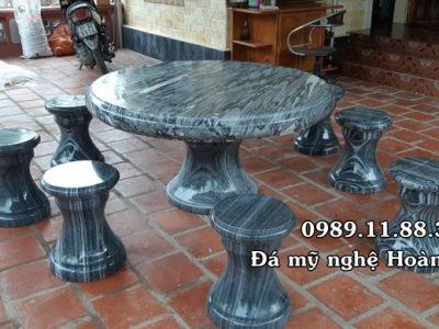 Mẫu bàn ghế đá giá rẻ