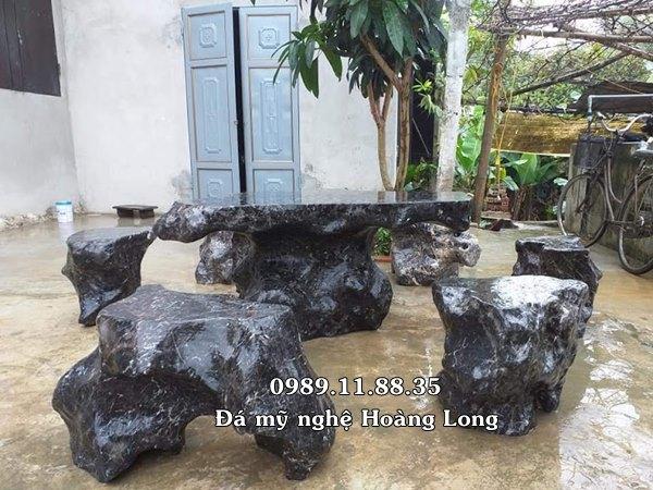 Bàn ghế đá sân vườn cao cấp