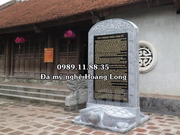 Bia đá đình chùa