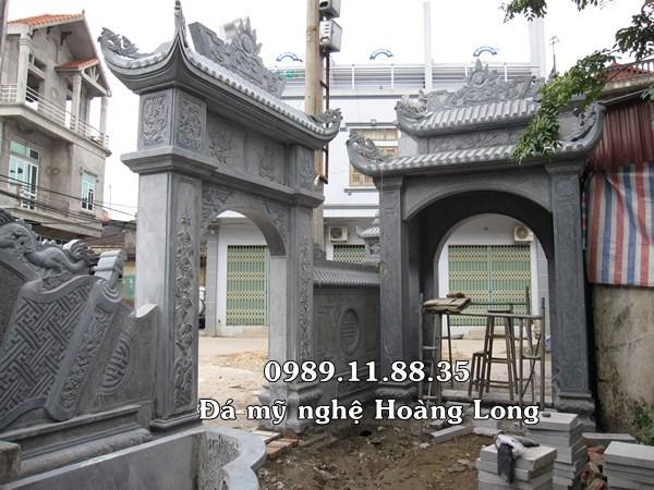 Cổng đền bằng đá