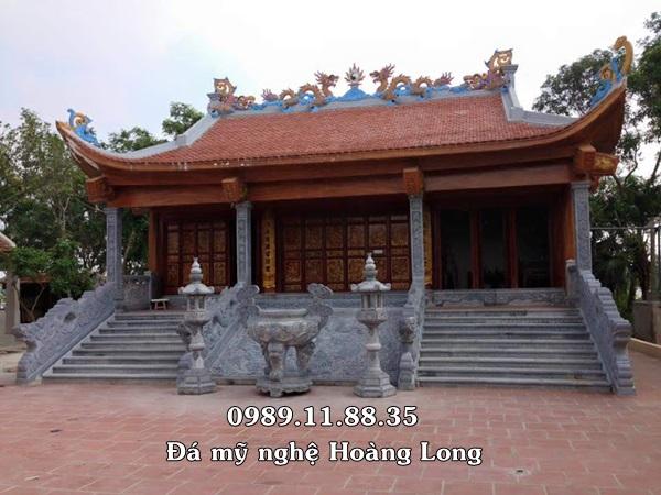 Kiến trúc đình chùa bằng đá