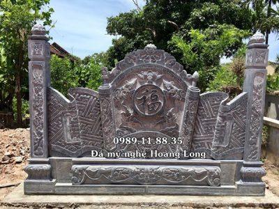 Làm cuốn thư đá nhà thờ họ tại Nam Định