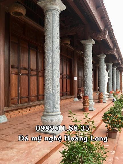 Mẫu cột hiên đình chùa đẹp