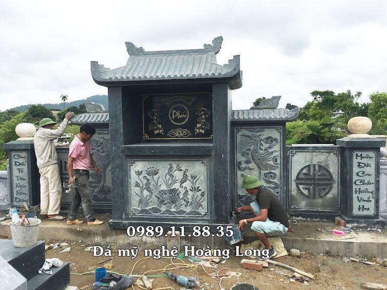 Mẫu khu lăng mộ đá đẹp Đắk Lắk