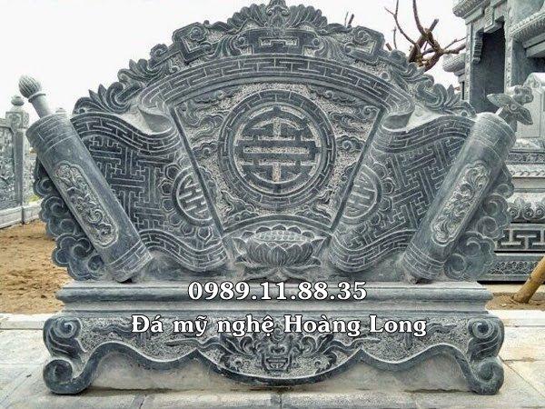 Bình phong khu lăng mộ đá
