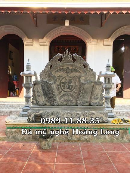 Bình phong nhà thờ họ làm tại Hà Nội