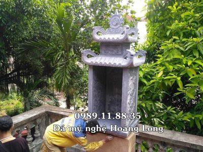 Mẫu bàn thờ thiên lắp đặt tại đình chùa