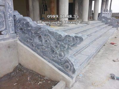 Chế tác rồng mây bằng đá tại Phú Thọ