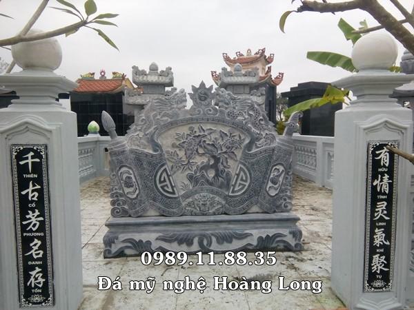Cuốn thư khu lăng mộ bằng đá