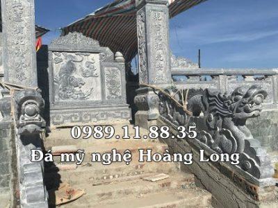 Giá cuốn thư đá khu lăng mộ
